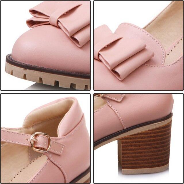2018 Fanyuan pas cher talons hauts pompes noir chaussures pour femmes talons doux papillon-noeud chaussures pour dames bout rond zapatillas mujer