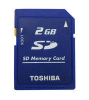 Toshiba 2GB Class2 SD-M02G SD Karte Standard Secure SD Speicher Karte für Digital Kameras und Camcorder Schloss Memoria SD