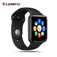 LEMFO Smart Watch Women Waterproof Sport SIM Card Dail Call Camera Ladies Watch Connect Android French