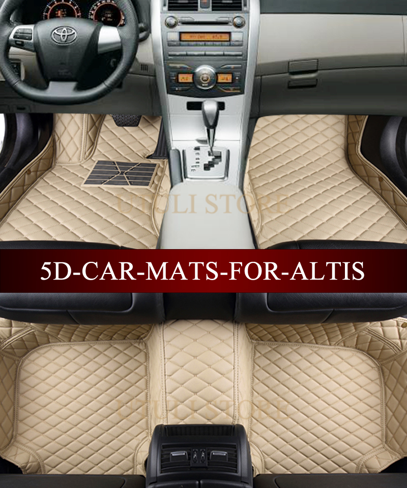 aliexpress com buy leather car floor mats for toyota corolla altis rh aliexpress com toyota corolla car mats 2017 toyota corolla car mats 2005