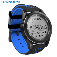 Fornorm Bluetooth Smartwatch Wearable Devices Waterproof Sport Watch Support Altimeter Pedometer Remote Camera For Android IOS