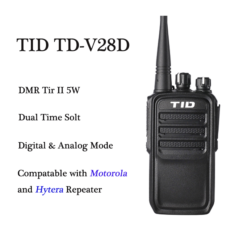Dmr Digital Radio Tid Td V28D Digital  Analog Modes -5615