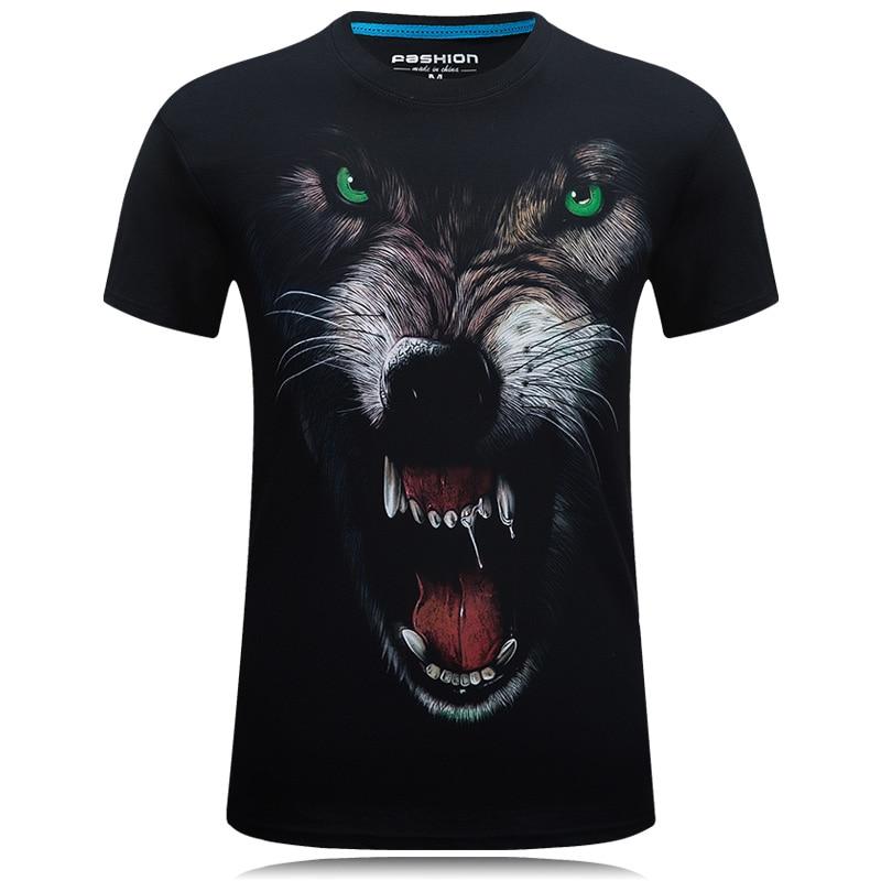 2018 Global penjualan New Fashion Brand T Shirt 3D Dicetak t-shirt - Pakaian Pria - Foto 6