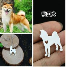 Японский akita dog Ожерелье Подвеска для собаки ювелирные изделия