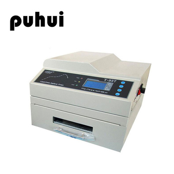 PUHUI T-937 Desktop Lead-free Infrared IC Heater Reflow Solder Oven Hot Air CirculationBGA SMD SMT Rework Station Reflow Oven