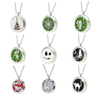 Legenstar Essential Oil Diffuser Locket Necklace for Women 316 Stainless Steel Perfume Pendant Necklace for 2018 Christmas Gift
