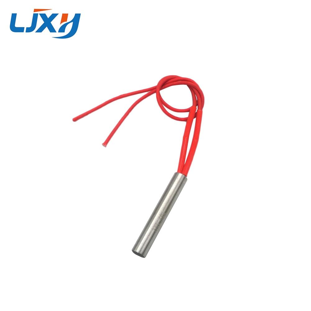LJXH Cylindrical Cartridge Heating Element Tubular Heater 10mm Tube Diameter, 100W/120W/150W, AC110V/220V/380V