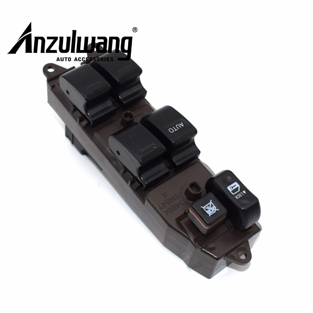 ANZULWANG 1pcs Master Power Window Switch 84820-33170 8482033170 For TOYOTA LAND CRUISER PRADO 2002-2010