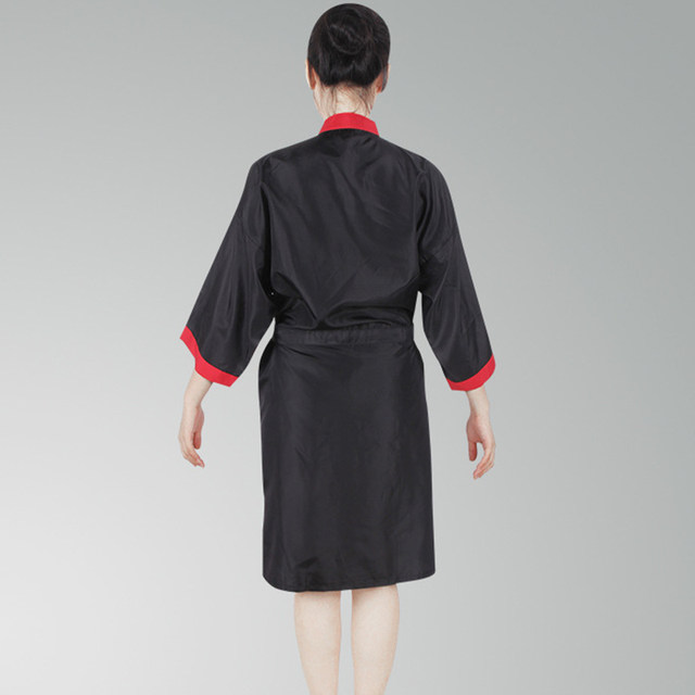 Online Shop Waterproof Salon Client Gown Hairdressing Gowns Kimono ...