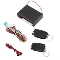 Universal Car Alarm Systems 12V Auto Remote Central Kit Door Lock Locking Vehicle Keyless Entry System