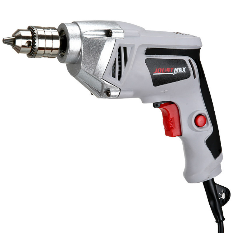 Speed Regulation and Reverse Gray Iron Chuck Pistol Electric Drill Multi-function Household Electric High Power Electric DrillSpeed Regulation and Reverse Gray Iron Chuck Pistol Electric Drill Multi-function Household Electric High Power Electric Drill