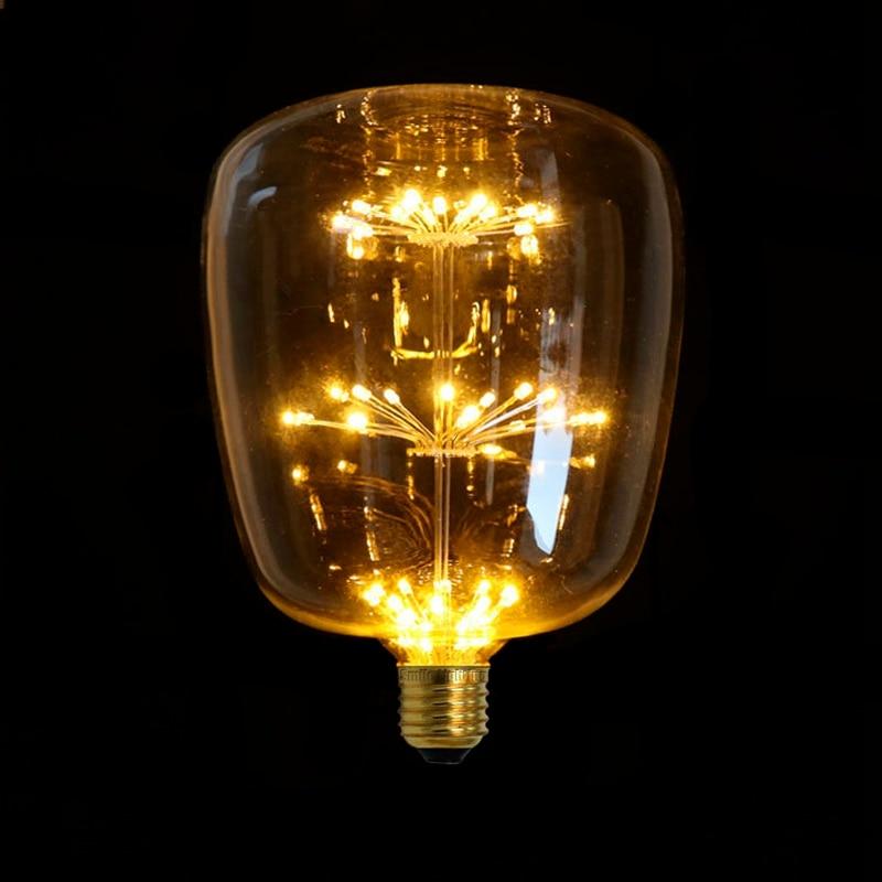 G145MTX LED Edison Bulb E27 220V Vintage Led Filament Warm White Bulb