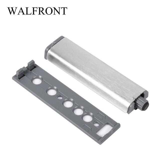 10Pcs/Set Open Door Stopper Stainless Steel Door Stop Drawer Hinge Push To  Open System