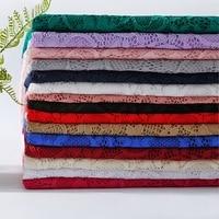 Fasgion chic Elastico Jacquard fiore tessuto del merletto per il vestito di stoffa decorazione di DIY Molti usi/Nylon 95% Lycra 5% 200 g/m commercio all'ingrosso