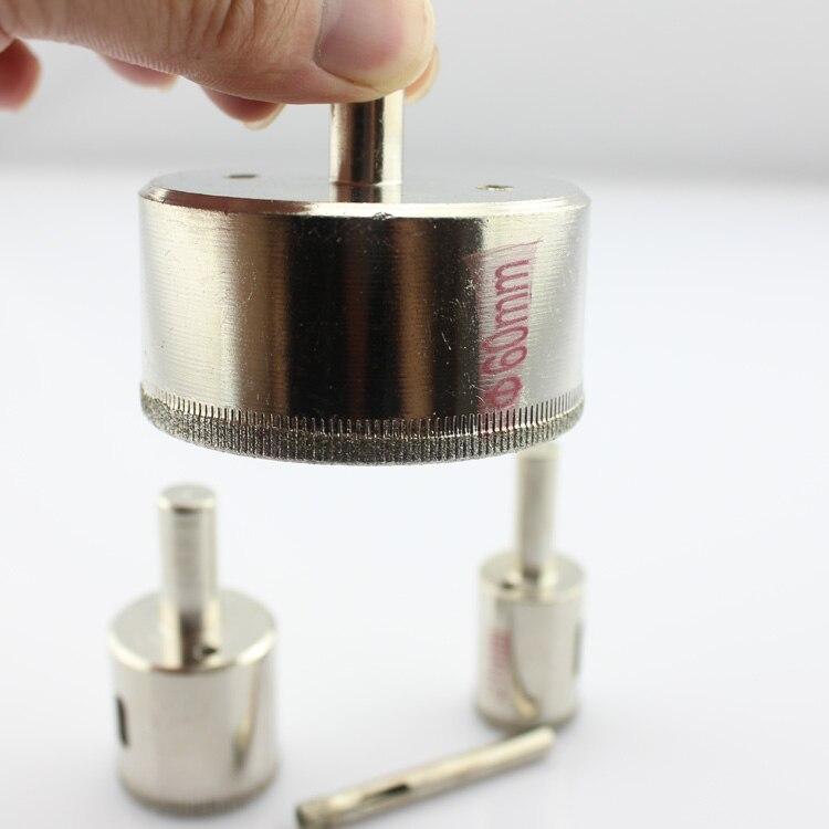 Klaasist puurvardaga teemantsaagiga puurvarda 3-55mm - Puur - Foto 3