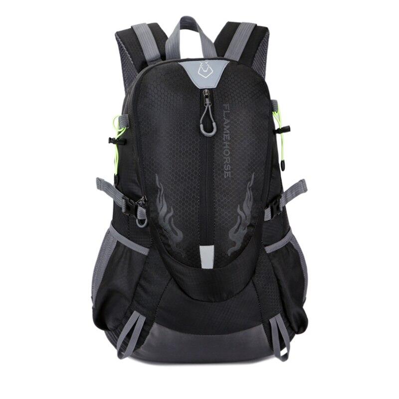 S.IKRR 40L Outdoor Climbing Backpack Durable Waterproof Women&Men Hiking Backpack Travel Bag Camping Trekking Sport Rucksack