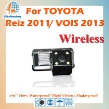 Беспроводной 1/4 Цвет ПЗС заднего вида Камера/парковка Камера для Toyota Reiz 2011/VOIS 2013 Ночное видение/170 градусов/Водонепроницаемый