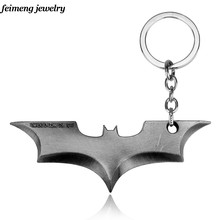 Movie Series Keychain batman super hero Key Chain Thor's hammer KeyChain Chaveiro Pendant Keyring key holder moive gift key ring(China)
