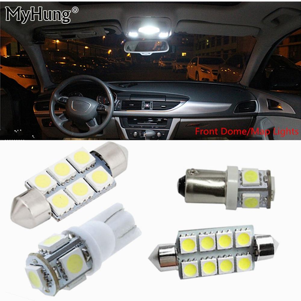Für audi q7 2007 bis 2013 canbus leds 12 v auto innenbeleuchtung kit - Auto Lichter