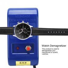 Watch Repair Screwdriver Tweezers Electrical Professional Demagnetize Tool Watchmaker EU Plug Demagnetizer Horloge Gereedschap