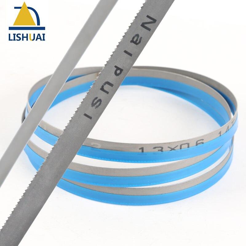 (Length Customized)3000-4000mm*13mm*0.65mm Wood Cutting&Metal Cutting M42 Bimetal Band Saw Blades (5 Teeth Types)
