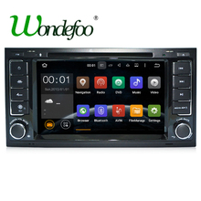 Android 7.1 CAR DVD PLAYER For VW Volkswagen Touareg T5 Transporter Multivan car GPS RAM 2G stereo radio multimedia navigation
