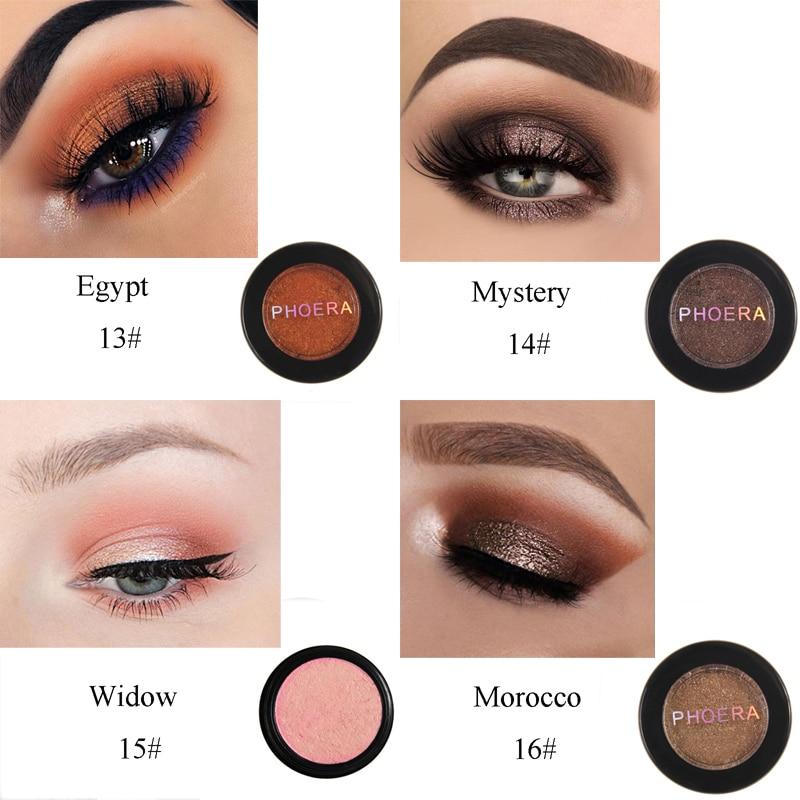 Beauty Essentials Phoera 24 Colors Waterproof Eye Shadow Cream Pigmented Diamond Glitter Matte Shimmer Powder Cosmetic Kit Eye Makeup Tslm2 Eye Shadow