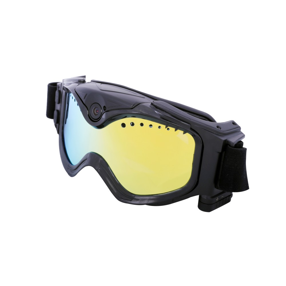 1080P HD Ski Sonnenbrille Brille WIFI Kamera & Bunte Doppel Anti Fog Objektiv für Ski mit Freies APP Live Bild Video Überwachung - 2