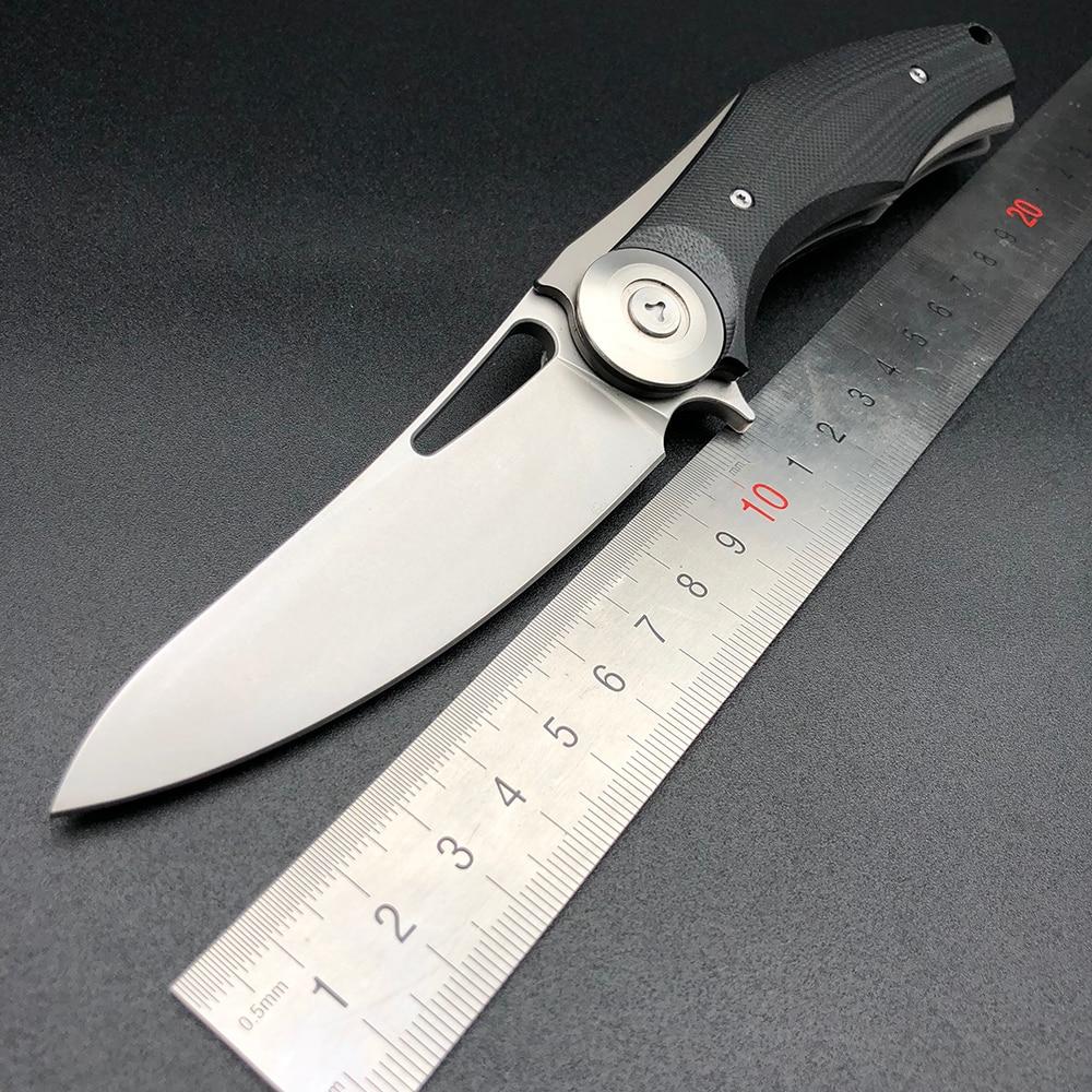 BMT Ayı Koyu Katlanır Blade Bıçaklar Taktik Bıçak D2 Bıçak G10 Kolu Yaban Domuzu Kamp Survival Avcılık Bıçak Açık EDC araçları
