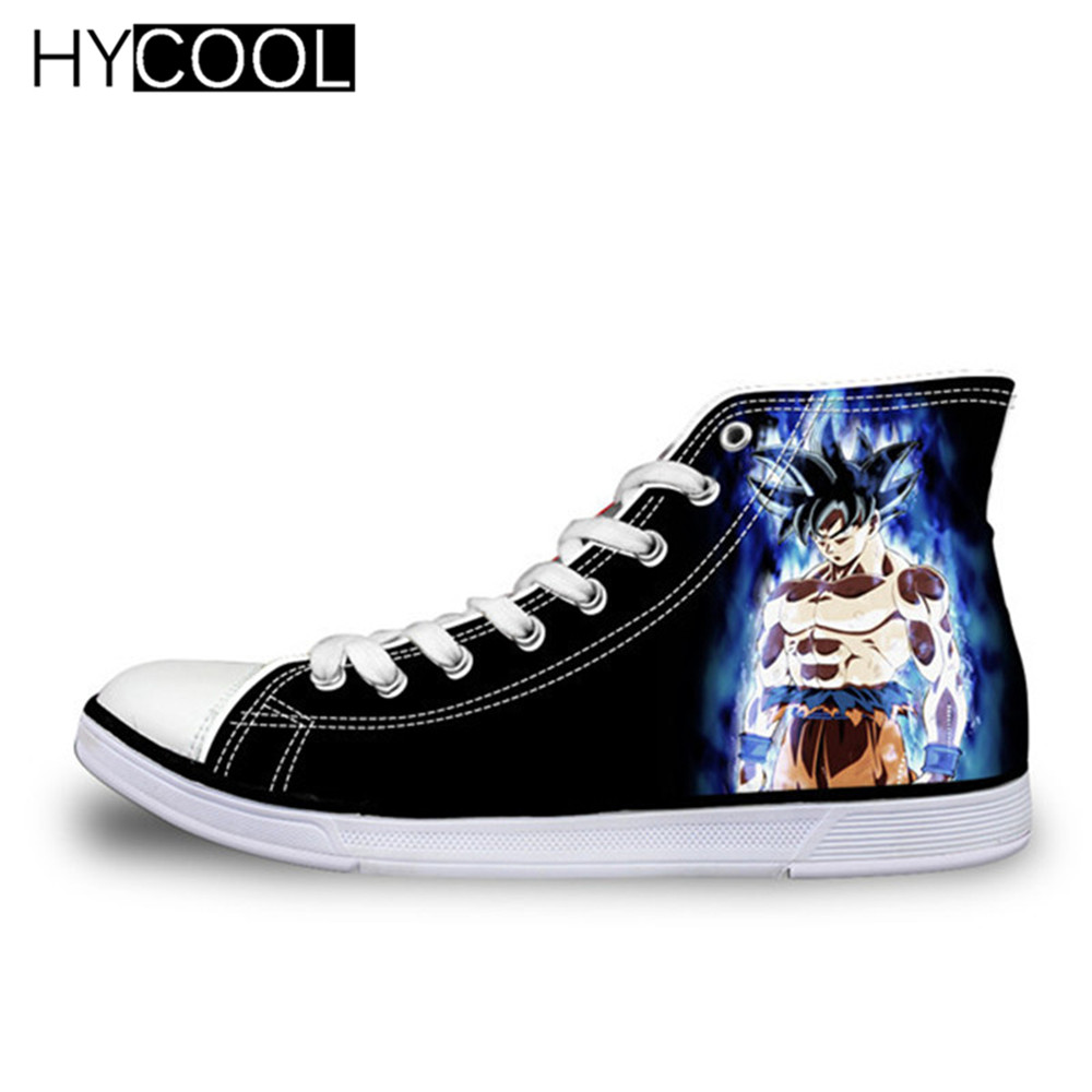 HYCOOL Dragon Ball Z Running Shoes Printing Canvas Shoes Kids' Sneakers Walking Shoes For Girls And Boys Breathable Canvas Shoes