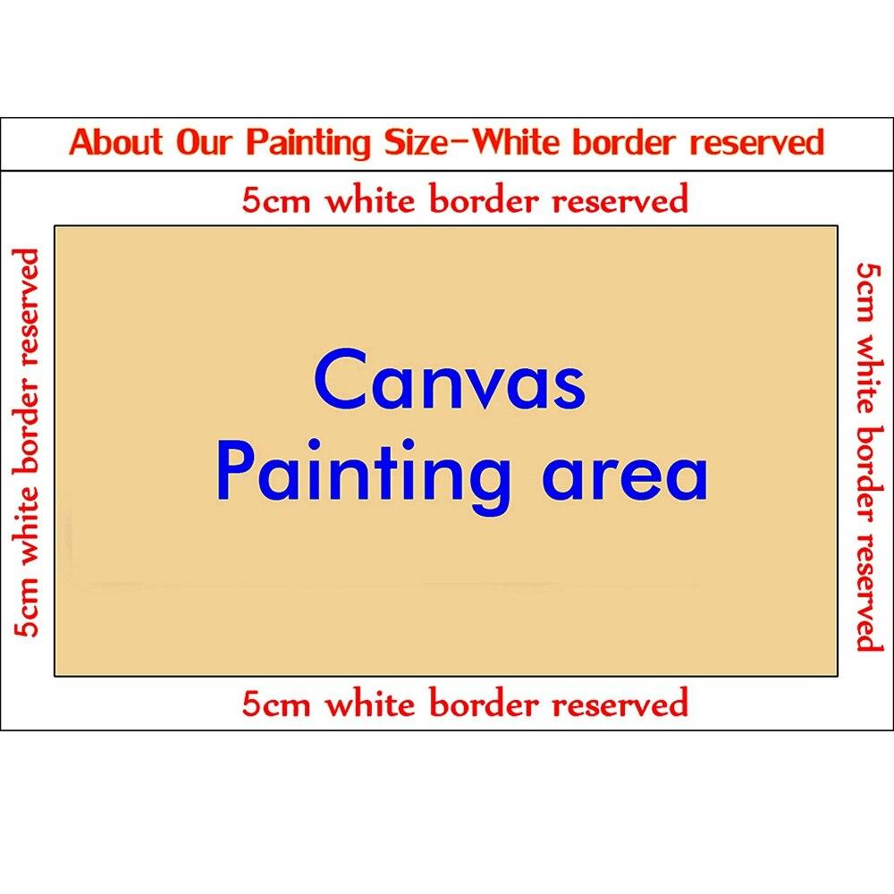 Peint à la main couteau toile peinture abstraite visage mur Art toile photos pour bureau hôtel décorations pour la maison œuvre décoration murale - 2