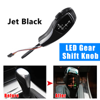 LED Gear Shift Knob Shifter Lever Stick For BMW E39 4D Sedan / 1996 2003 E53 Facelifted 2004 2006 Automatic Accessories