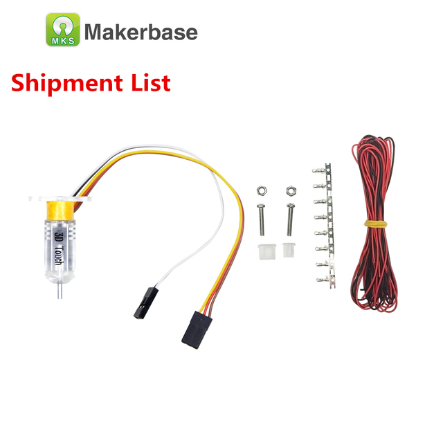US $15 89 6% OFF|Makerbase BLTOUCH bed leveling sensor level module auto  self leveling switch 3D levelling touch endstop adjustment part-in 3D  Printer