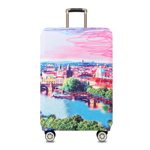 Mihawk Unisex Travel Suitcase Protective Cover Trolley Thicker Dustproof Luggage Case Baggage Pouch Zipper Traveling Accessoires Multan