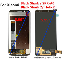 FOR Xiaomi Black Shark SKR-A0 Lcd Screen Display Touch Assembly Replacement Parts Shark2 Helo 2 AWM-A0