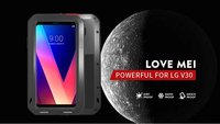 Love Mei Brand Powerful Life Waterproof Shockproof Tough Armor Aluminum Metal Case for LG V30 Anti fingerprint Cover Coque