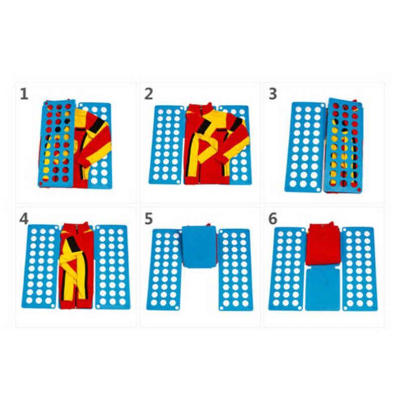 인기있는 옷 폴더 매직 빠른 세탁 주최자 접는 보드 게으른 빠른 스태킹 보드