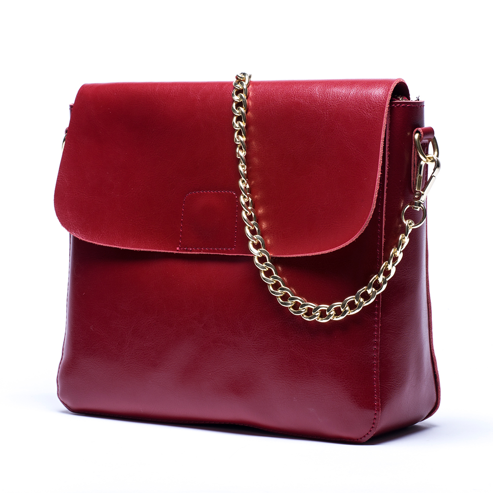 Women's Crossbody Bag Cow Genuine Leather Black/Blue/Burgundy/Gray Ladies Messen