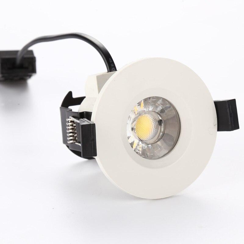 1 шт. светодиодный светильник COB прожектор 6 Вт светодиодный утоплена Light 220 В противопожарные Освещение в помещении верхнего света для фойе г...
