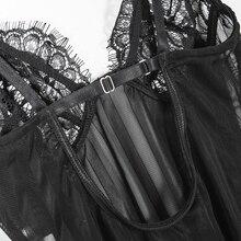lace bodysuit Women EL01