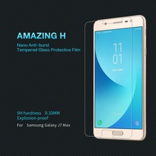 For Samsung Galaxy J7 Max Tempered Glass Authentic 9H Protecting Movie Explosion-proof LCD Display Protector For J7 Max J7max