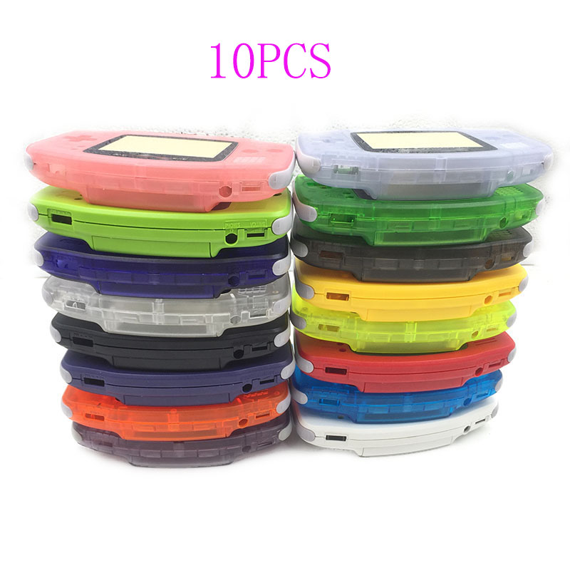 10PCS Replacement For Nintendo GBA Housing Shell Repair Part Case for Gameboy Advance-in Replacement Parts & Accessories from Consumer Electronics on AliExpress - 11.11_Double 11_Singles' Day 1