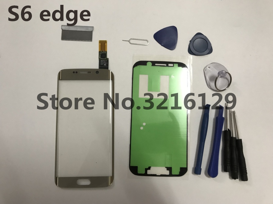 Original LCD touch screen front <font><b>glass</b></font> lens+TP+adhesive Tape <font><b>Replacement</b></font> Parts for <font><b>samsung</b></font> <font><b>galaxy</b></font> <font><b>s6</b></font> edge G925 G925F plus g928 image