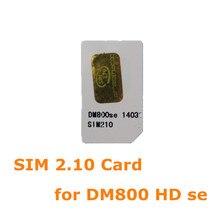 ANEWKODI 2.10 sim carte pour DM 800se, SR4, dm800se avec wifi satellite finder. bootloader d'origine image livraison gratuite