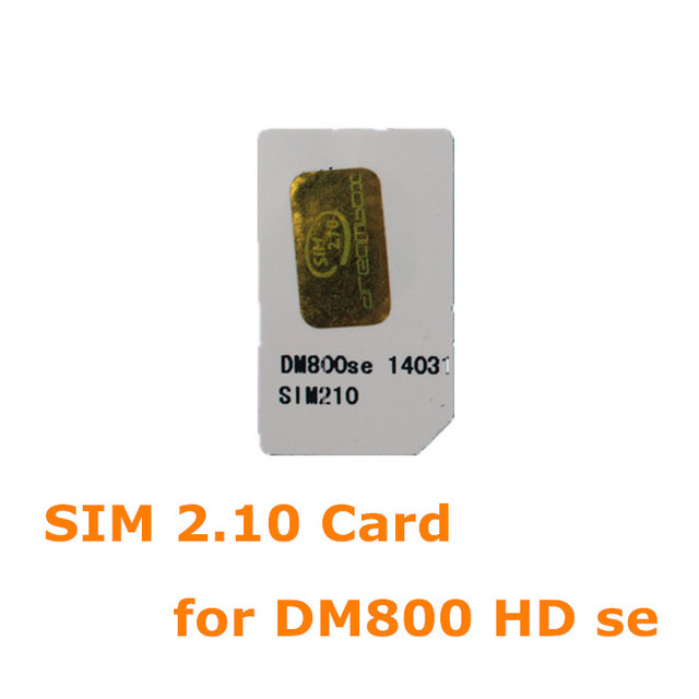 ANEWKODI 2 10 sim card for DM 800se ,SR4 ,dm800se with wifi satellite  finder  bootloader original image free shipping-in Satellite TV Receiver  from