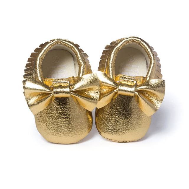 16 Colors Brand Spring Baby Shoes PU Leather Newborn Boys Girls Shoes First Walkers Baby Moccasins 0-18 Months 3