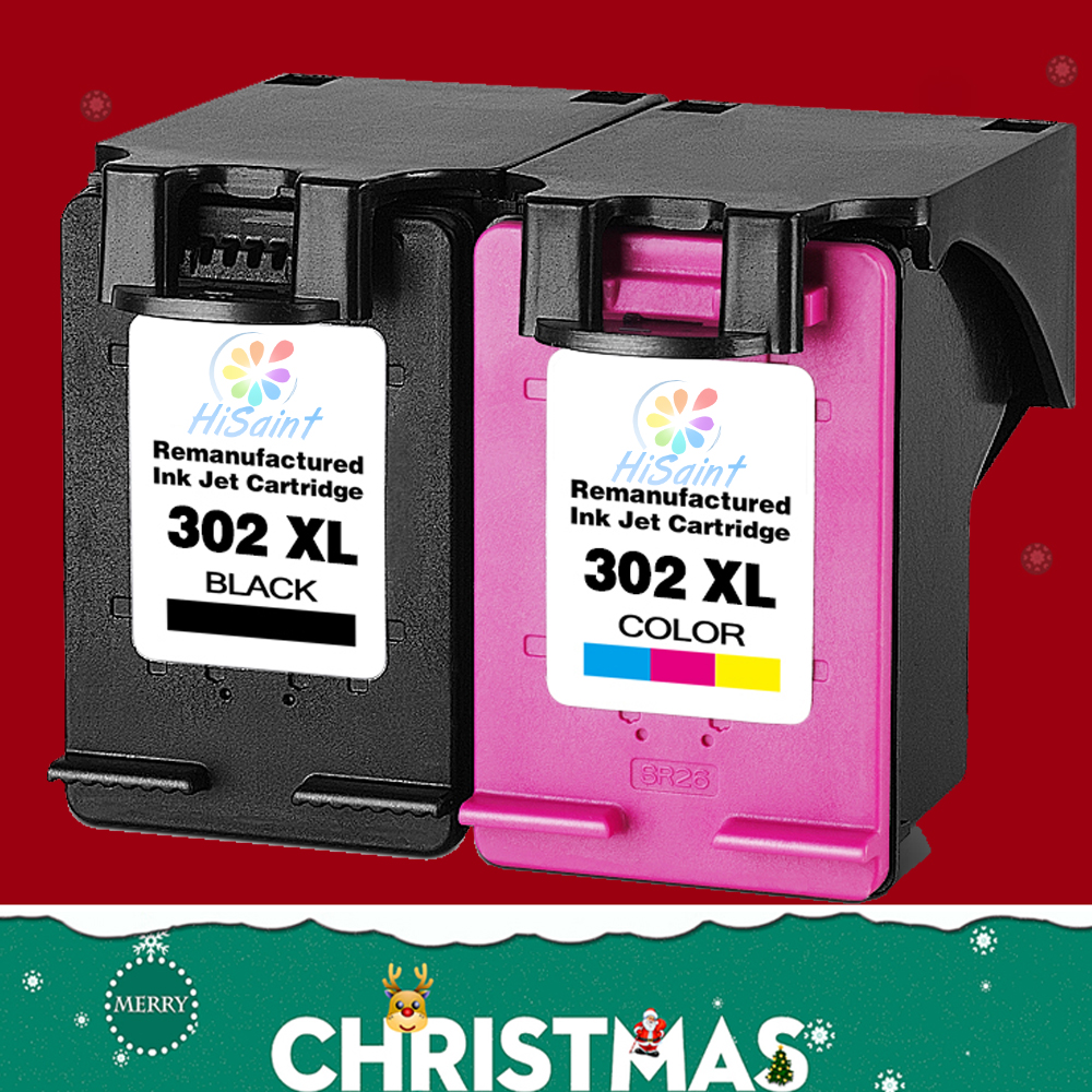2pcs bk tricolor for hp 302 302xl ink cartridge compatible for hp deskjet 2130 1110 1115 2134. Black Bedroom Furniture Sets. Home Design Ideas
