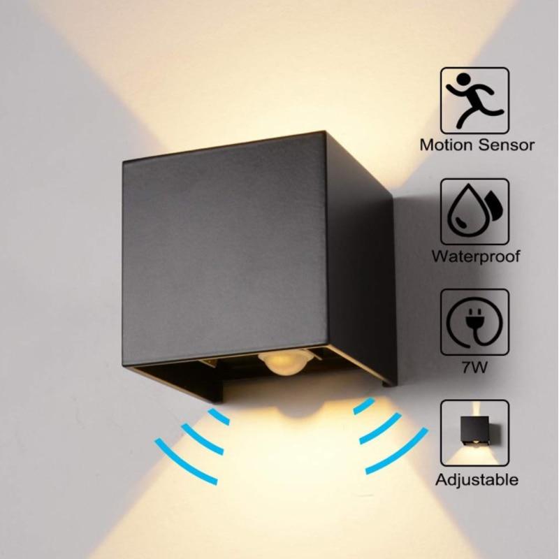 Pir Motion Sensor Outdoor Led Wall