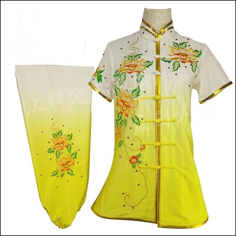 Wushu clothing uniform wushu costume kung fu uniform clothes martial arts uniform Chinese warrior costume exercise