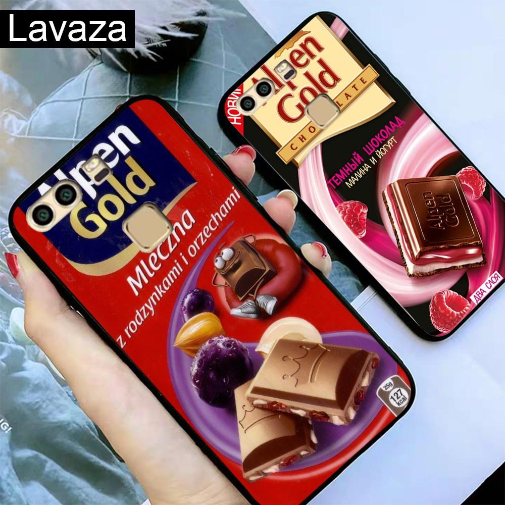 Lavaza alenka bar wonka chocolate Silicone Case for Huawei P8 Lite 2015 2017 P9 2016 Mini P10 P20 Pro P Smart 2019 P30 in Fitted Cases from Cellphones Telecommunications